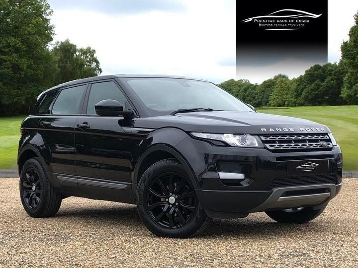 used Land Rover Range Rover Evoque SD4 PURE in ongar-essex