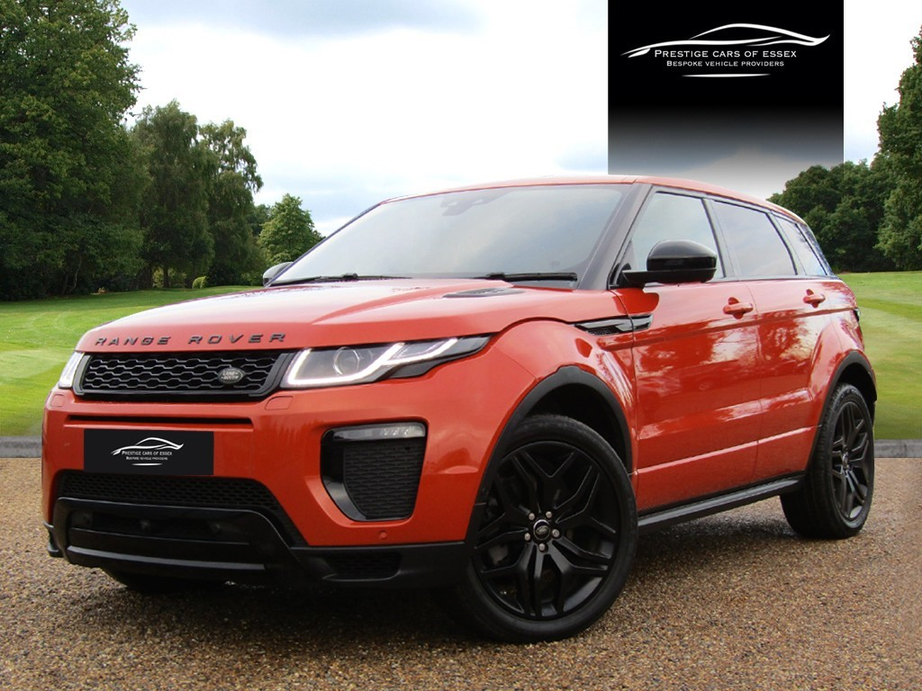used Land Rover Range Rover Evoque TD4 HSE DYNAMIC in ongar-essex