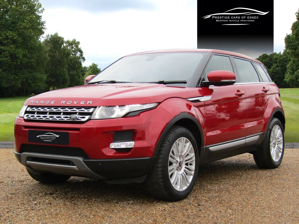 used Land Rover Range Rover Evoque SD4 PRESTIGE LUX in ongar-essex
