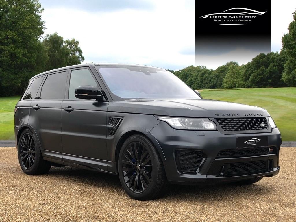 used Land Rover Range Rover Sport V8 SVR in ongar-essex