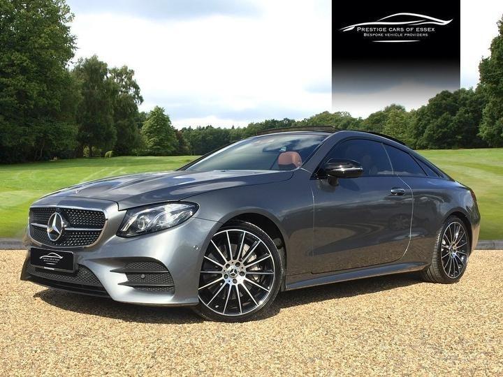 used Mercedes 400 E  4MATIC AMG LINE PREMIUM PLUS in ongar-essex