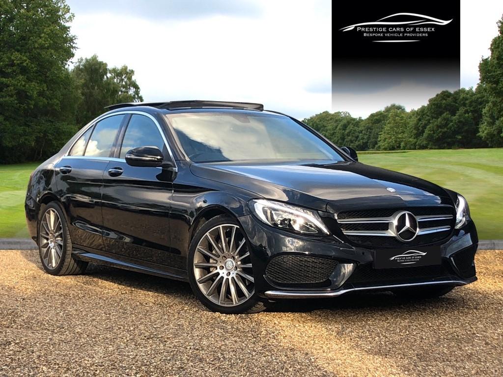 used Mercedes C200 AMG LINE PREMIUM in ongar-essex