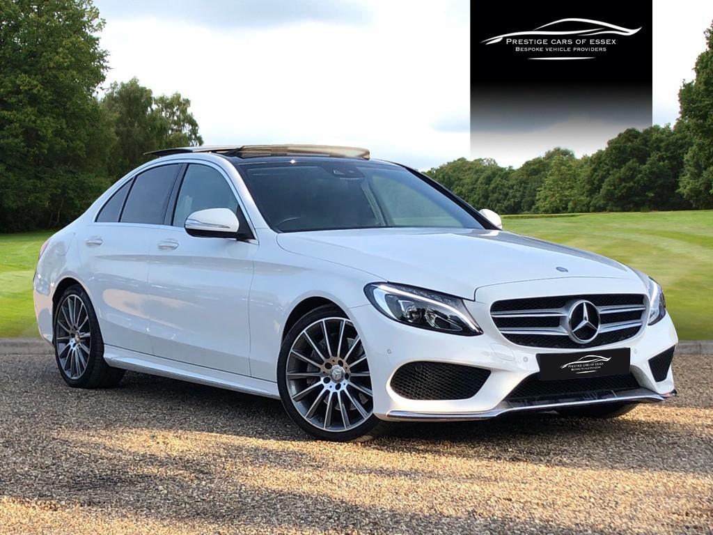used Mercedes C200 AMG LINE PREMIUM PLUS in ongar-essex