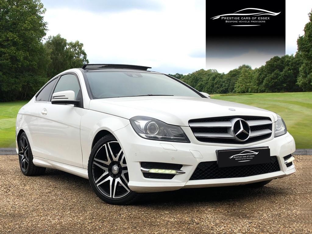used Mercedes C220 CDI BLUEEFFICIENCY AMG SPORT PLUS in ongar-essex