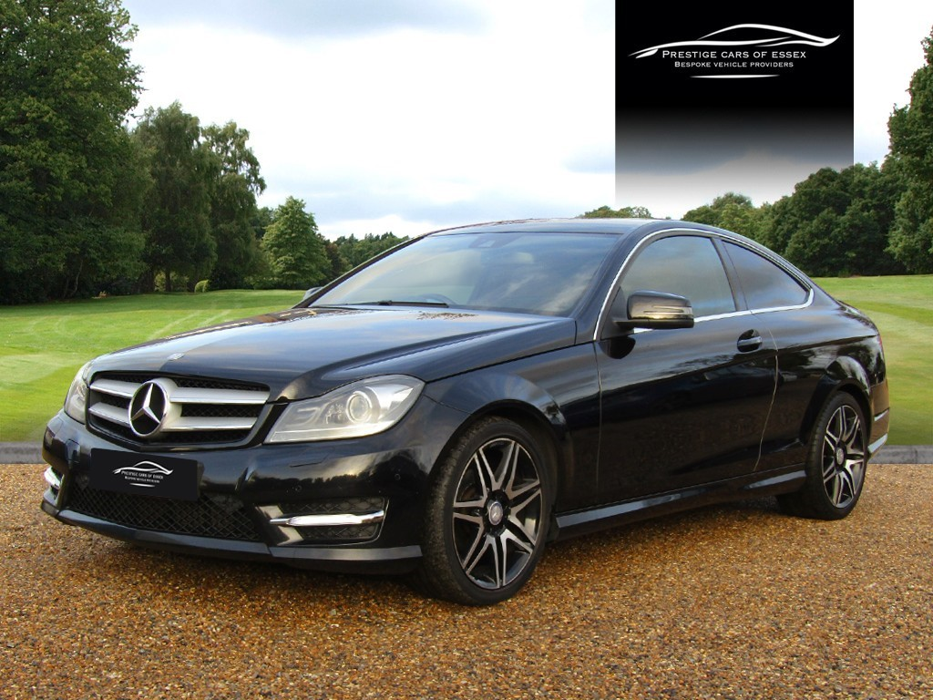 used Mercedes C220 CDI BLUEEFFICIENCY AMG SPORT PLUS in ongar-essex