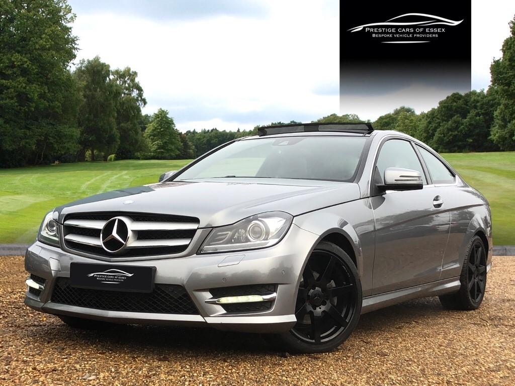 used Mercedes C220 CDI AMG SPORT EDITION PREMIUM PLUS in ongar-essex