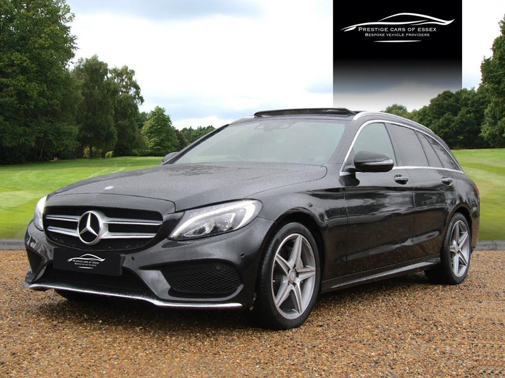 used Mercedes C220 D AMG LINE PREMIUM PLUS in ongar-essex