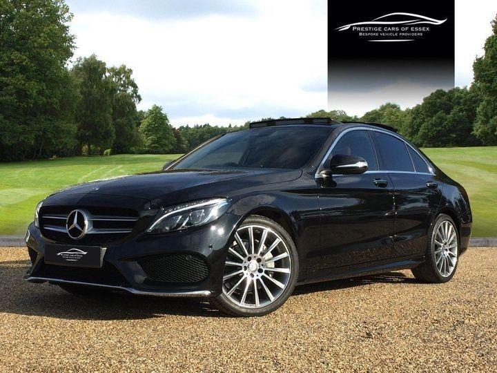 used Mercedes C220 BLUETEC AMG LINE PREMIUM PLUS in ongar-essex