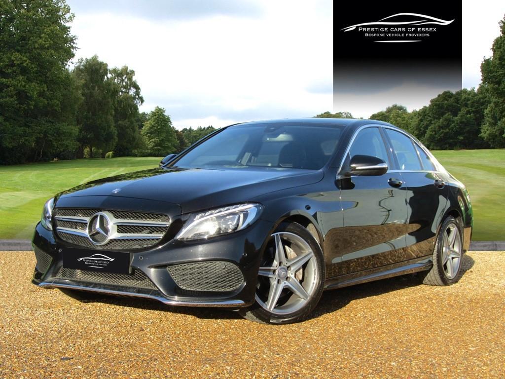 used Mercedes C220 BLUETEC AMG LINE in ongar-essex