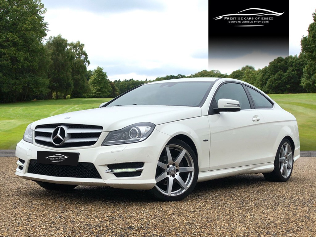 used Mercedes C250 CDI BLUEEFFICIENCY AMG SPORT in ongar-essex