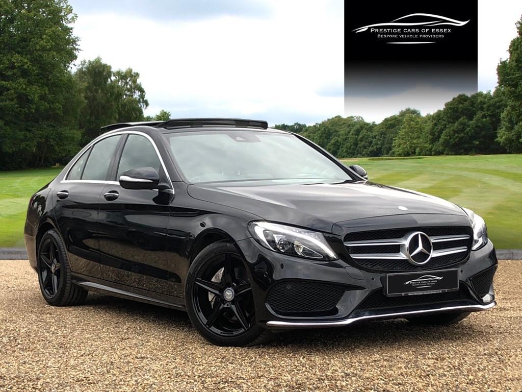 used Mercedes C250 BLUETEC AMG LINE PREMIUM in ongar-essex