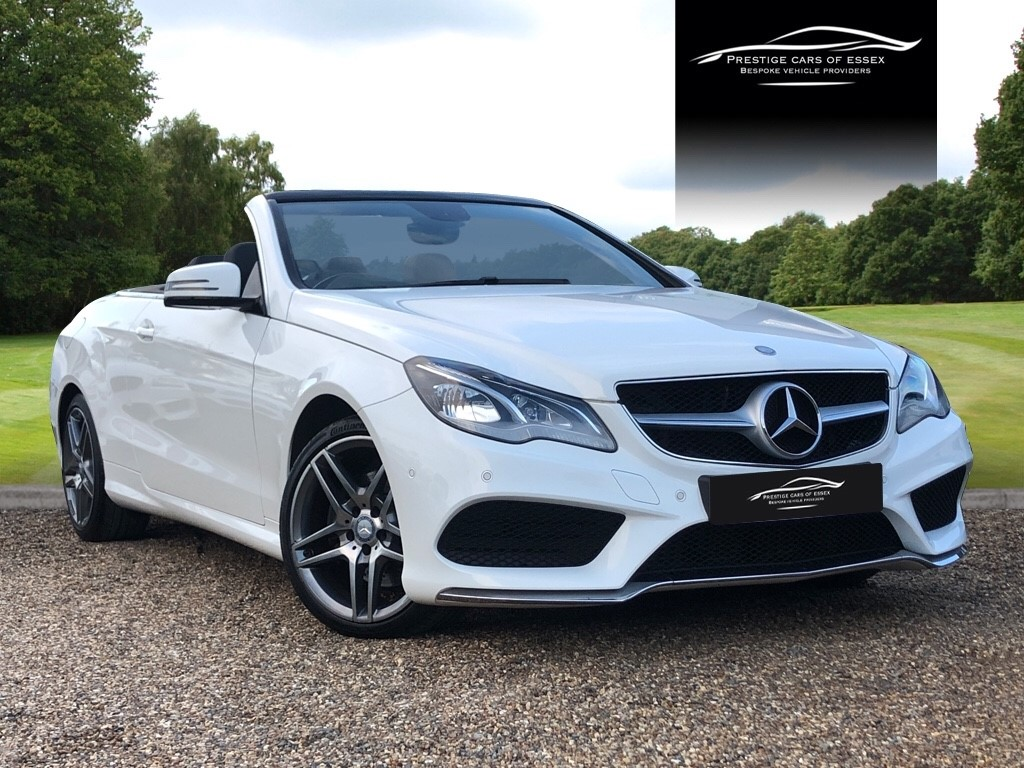 used Mercedes E220 BLUETEC AMG LINE in ongar-essex