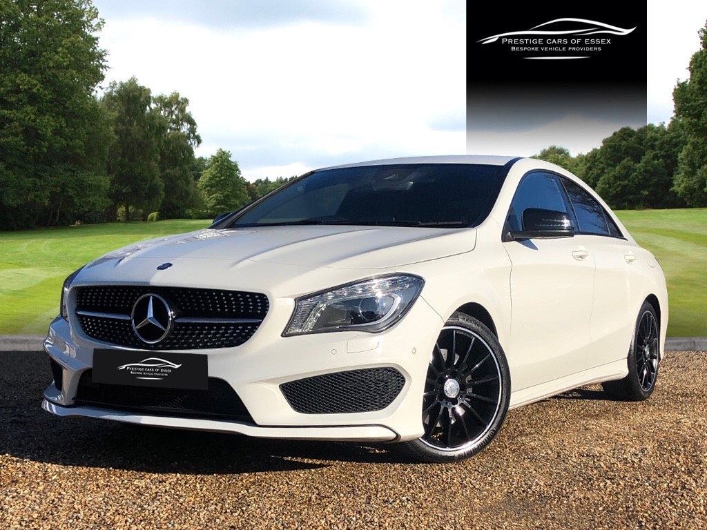 used Mercedes CLA 220 CLA220 CDI AMG SPORT 4MATIC in ongar-essex