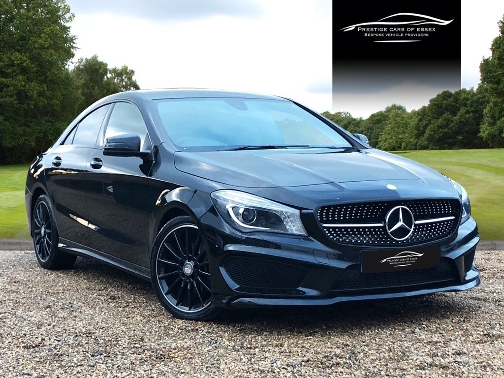 used Mercedes  CLA 200 D AMG SPORT in ongar-essex