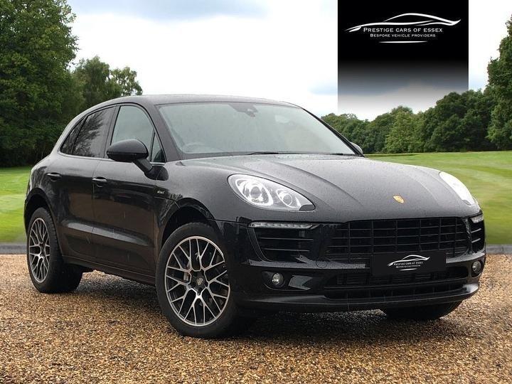 used Porsche Macan D S PDK in ongar-essex