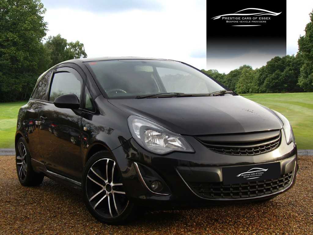 used Vauxhall Corsa BLACK EDITION in ongar-essex