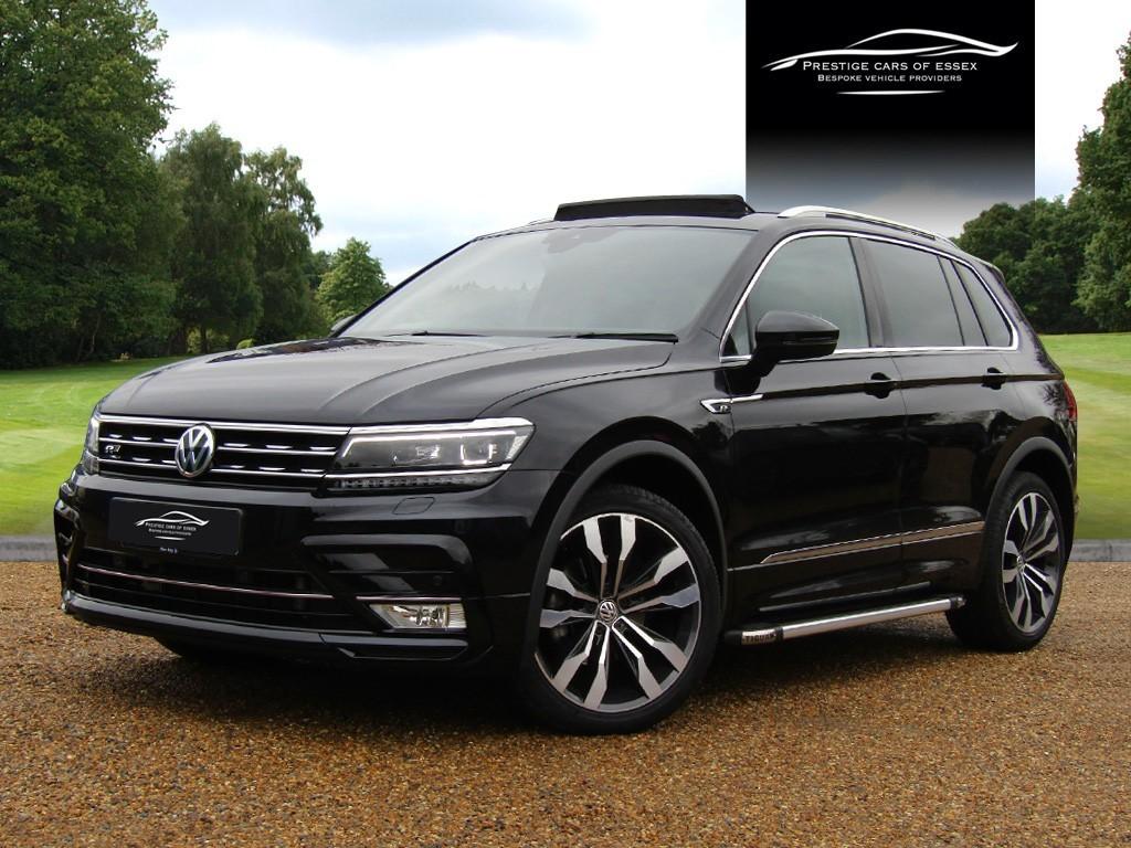 used VW Tiguan R-LINE TDI BLUEMOTION TECHNOLOGY DSG in ongar-essex