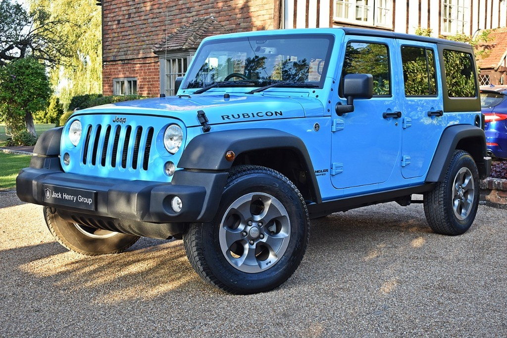 used Jeep Wrangler V6 Rubicon in in-kent