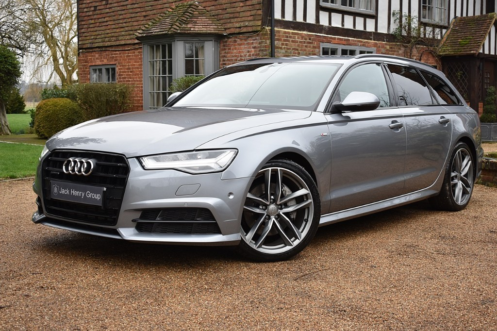 used Audi 100 AVANT TDI QUATTRO S LINE BLACK EDITION in in-kent