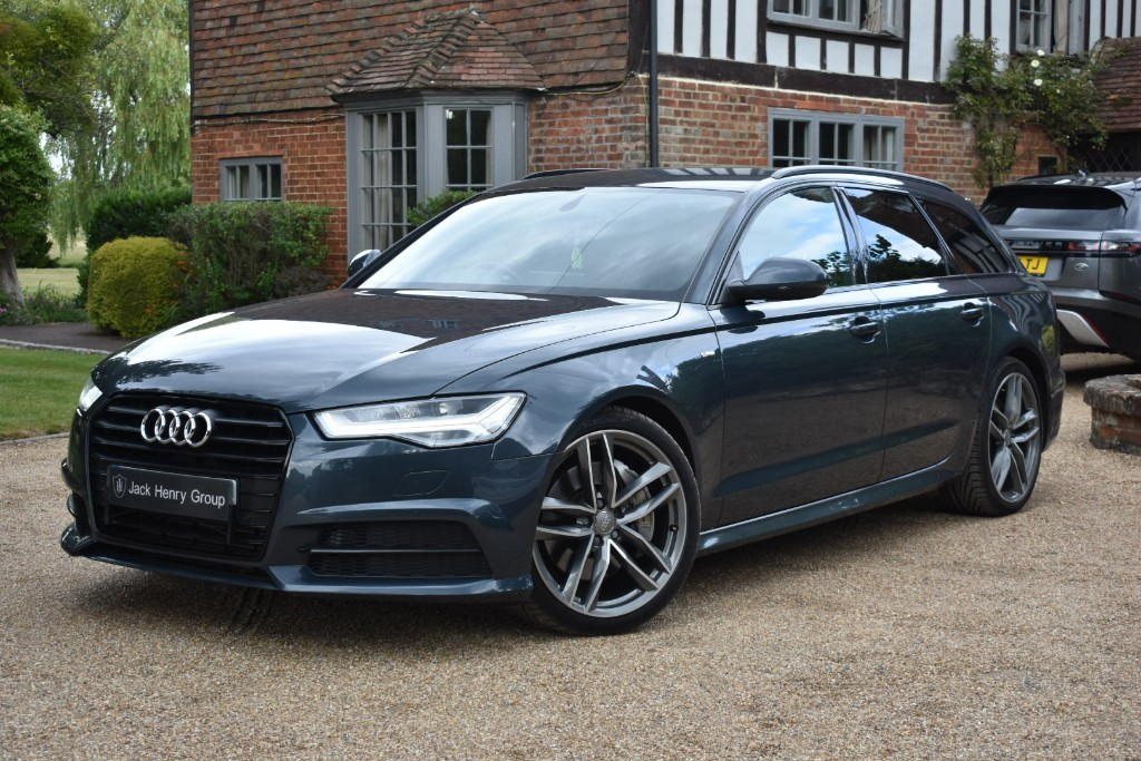 used Audi A6 Avant AVANT TDI QUATTRO S LINE BLACK EDITION in in-kent