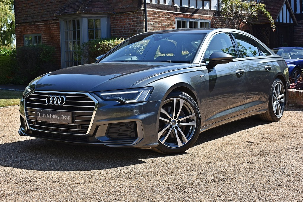 used Audi A6 Saloon TDI QUATTRO S LINE in in-kent