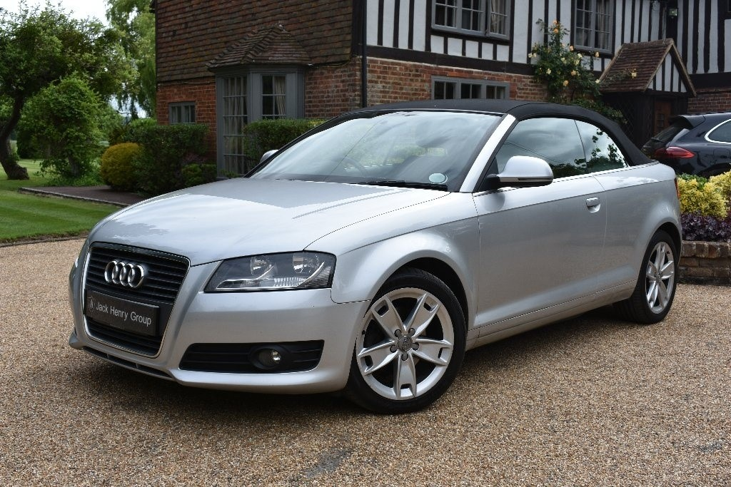 used Audi A3 Cabriolet TDI Sport S Tronic 2dr in in-kent