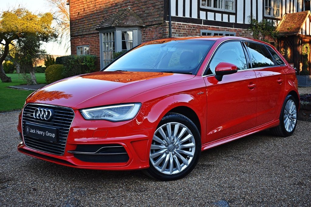 used Audi A3 SPORTBACK E-TRON in in-kent