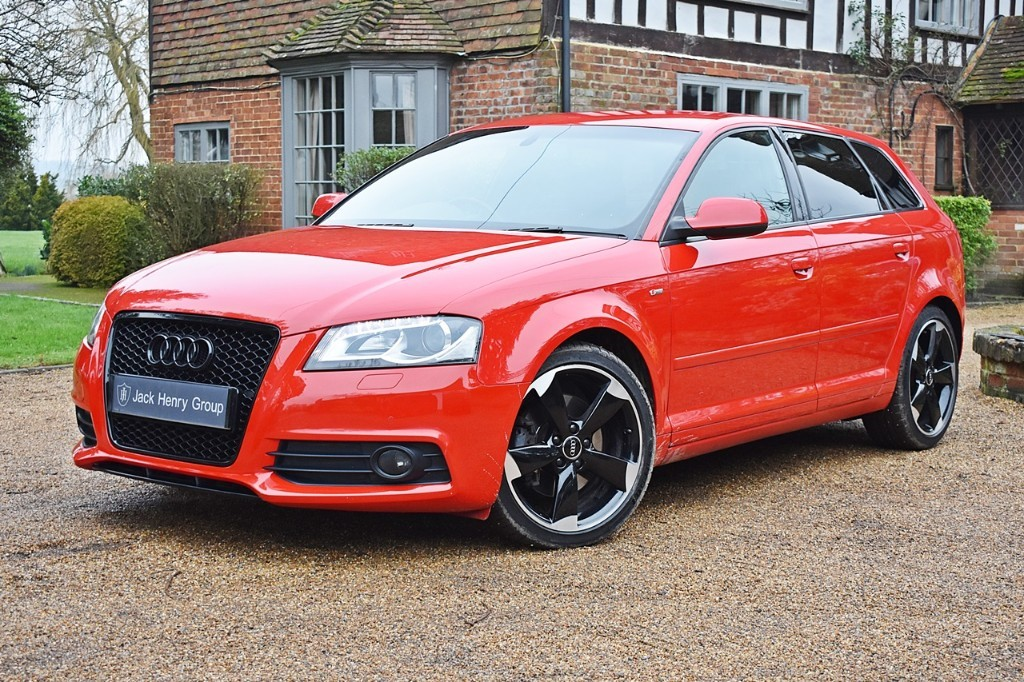 used Audi A3 SPORTBACK TDI S LINE SPECIAL EDITION in in-kent