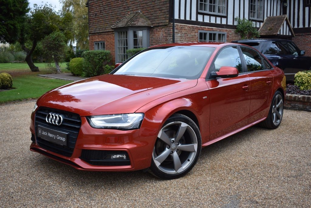 used Audi A4 TDI S LINE BLACK EDITION in in-kent