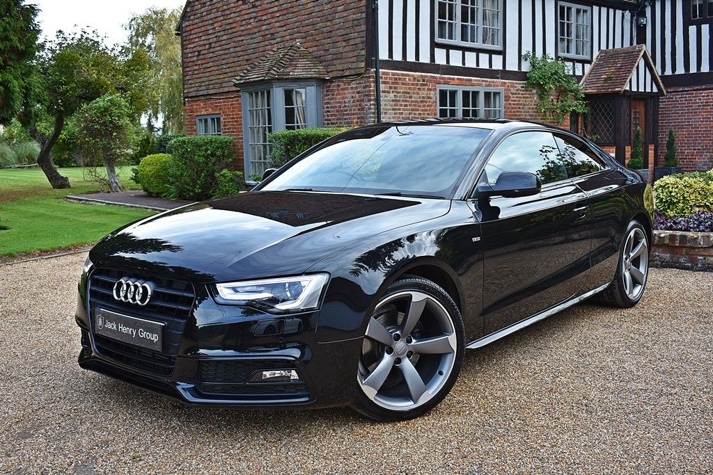Used black audi a5 for sale kent - Audi a5 coupe s line black edition for sale ...