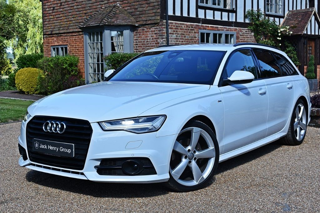 used Audi A6 Avant TDI ULTRA S LINE BLACK EDITION in in-kent
