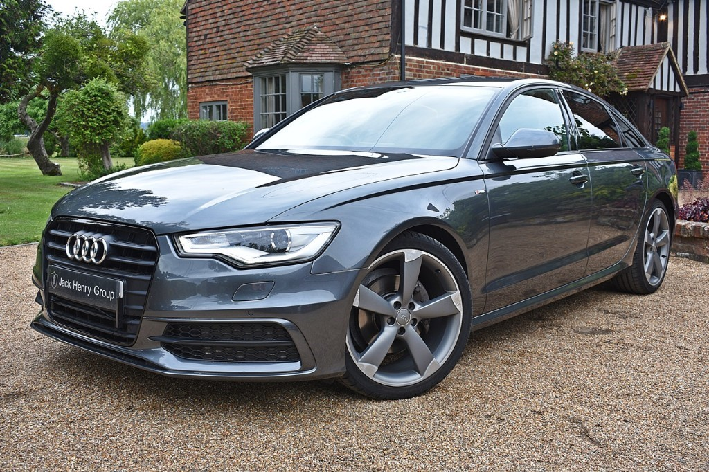 used Audi A6 TDI ULTRA S LINE BLACK EDITION in in-kent