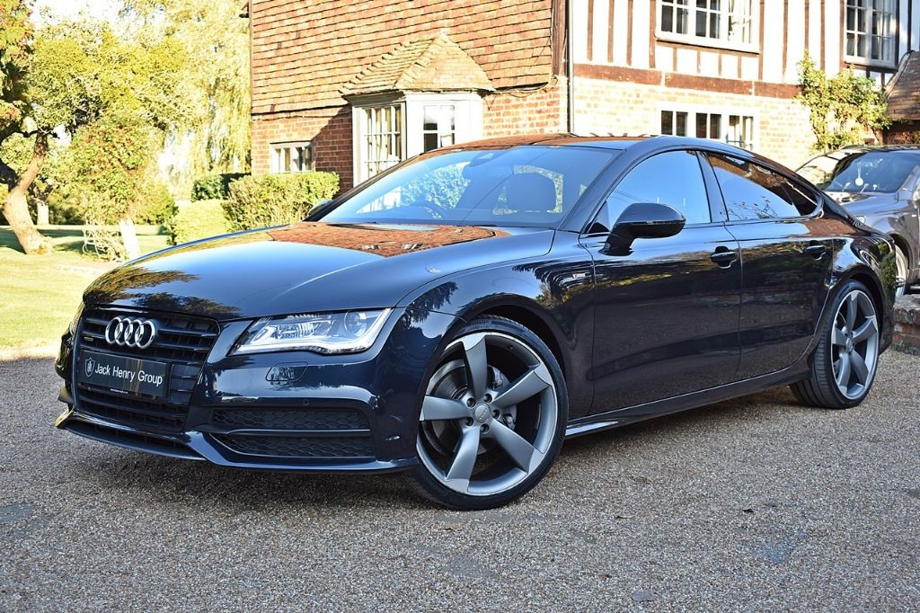 used Audi A7 TDI QUATTRO S LINE BLACK EDITION in in-kent