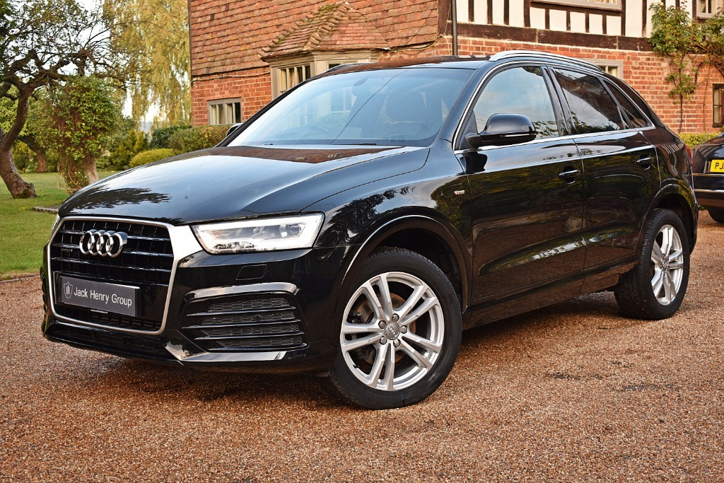 used Audi Q3 TFSI QUATTRO S LINE NAVIGATION in in-kent