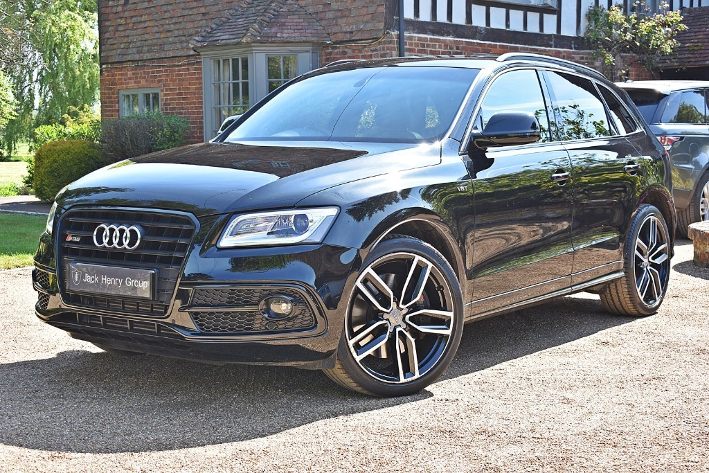 used Audi Q5 SQ5 PLUS SPECIAL EDITION TDI QUATTRO in in-kent
