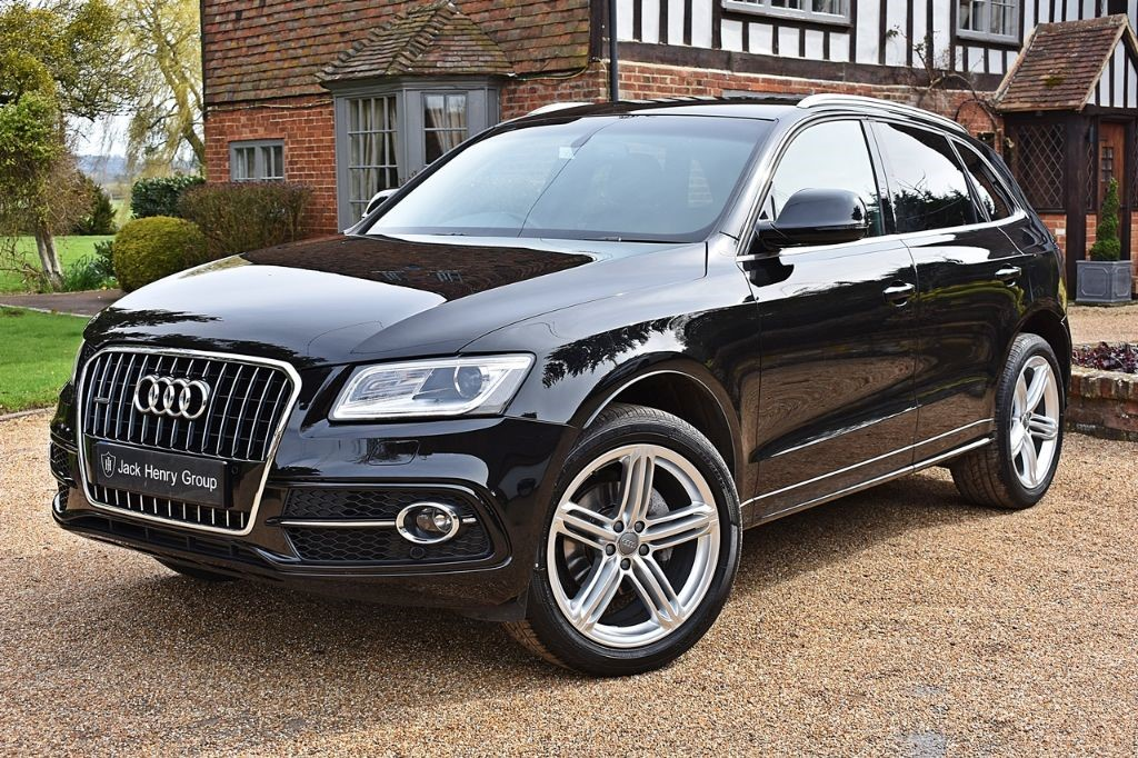 used Audi Q5 TDI QUATTRO S LINE PLUS in in-kent