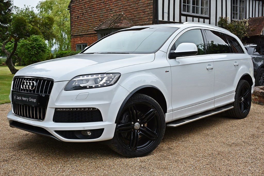 used Audi Q7 TDI QUATTRO S LINE PLUS in in-kent