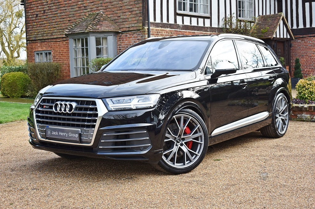 used Audi Q7 SQ7 TDI QUATTRO in in-kent