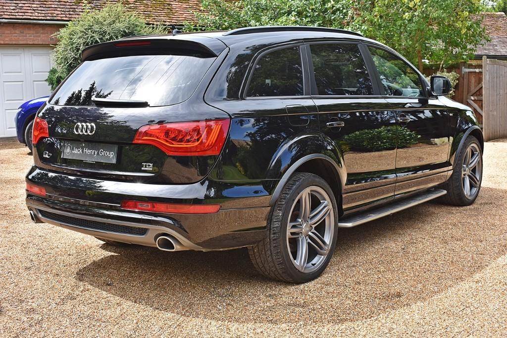 Used Orca Black Audi Q7 for Sale | Kent