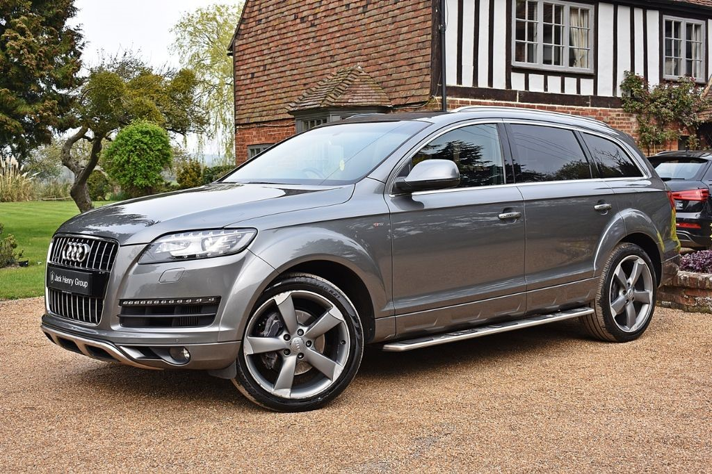used Audi Q7 TDI QUATTRO S LINE STYLE EDITION in in-kent