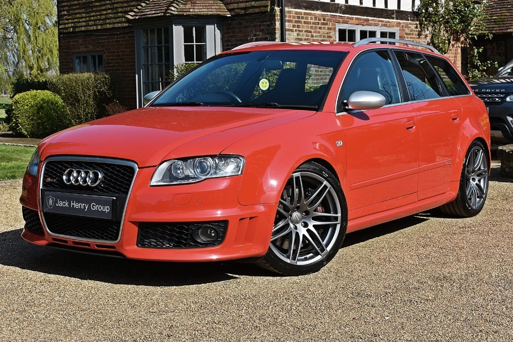 used Audi RS4 QUATTRO in in-kent
