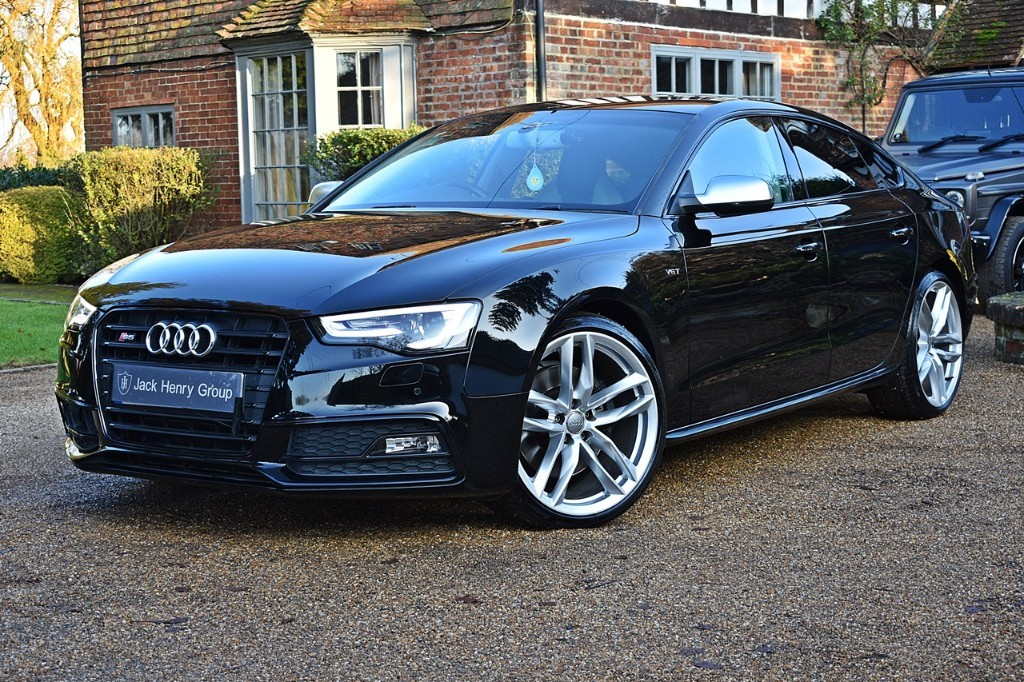 used Audi S5 SPORTBACK TFSI QUATTRO BLACK EDITION in in-kent