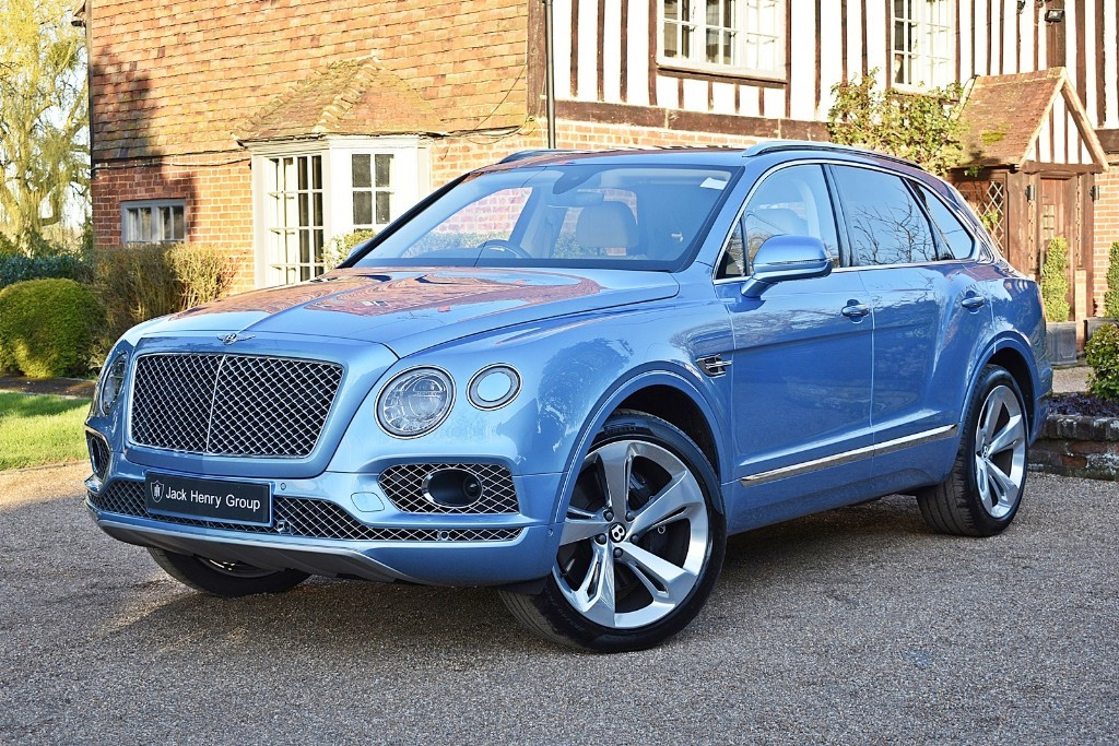 used Bentley Bentayga W12 in in-kent
