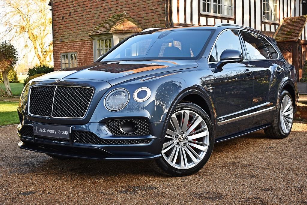 used Bentley Bentayga SPEED in in-kent