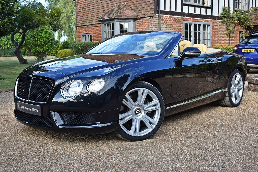 used Bentley Continental GTC V8 in in-kent