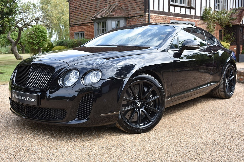 used Bentley Continental SUPERSPORTS in in-kent