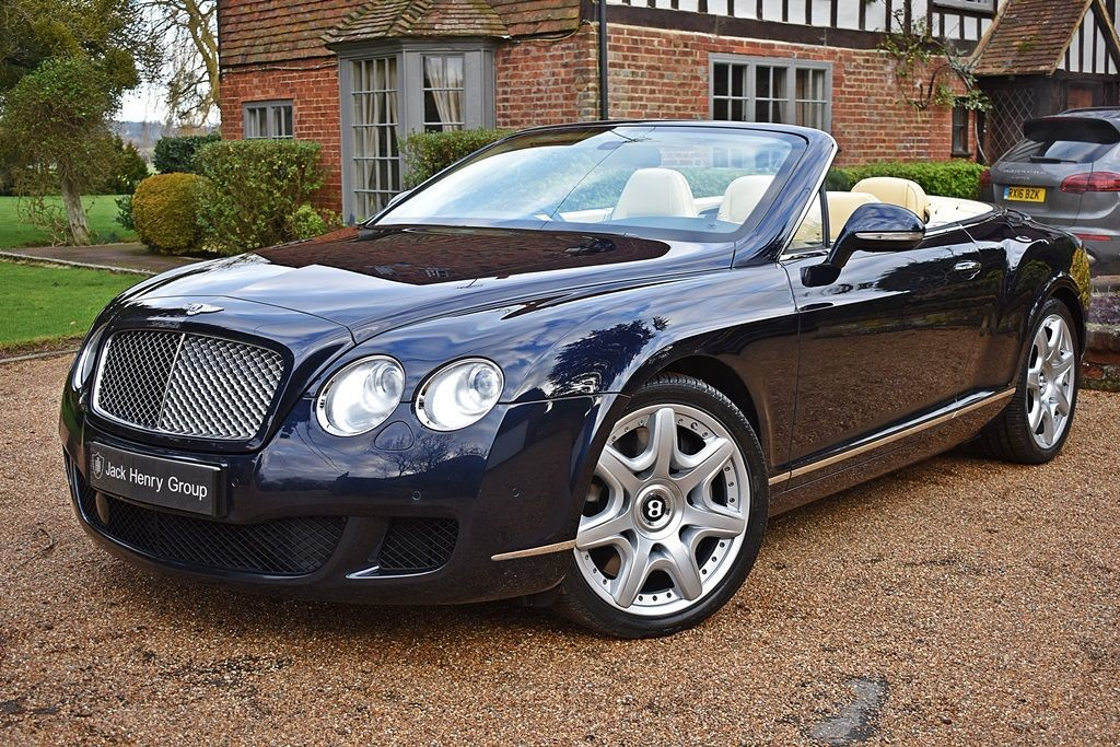 used Bentley Continental GTC Mulliner Spec in in-kent