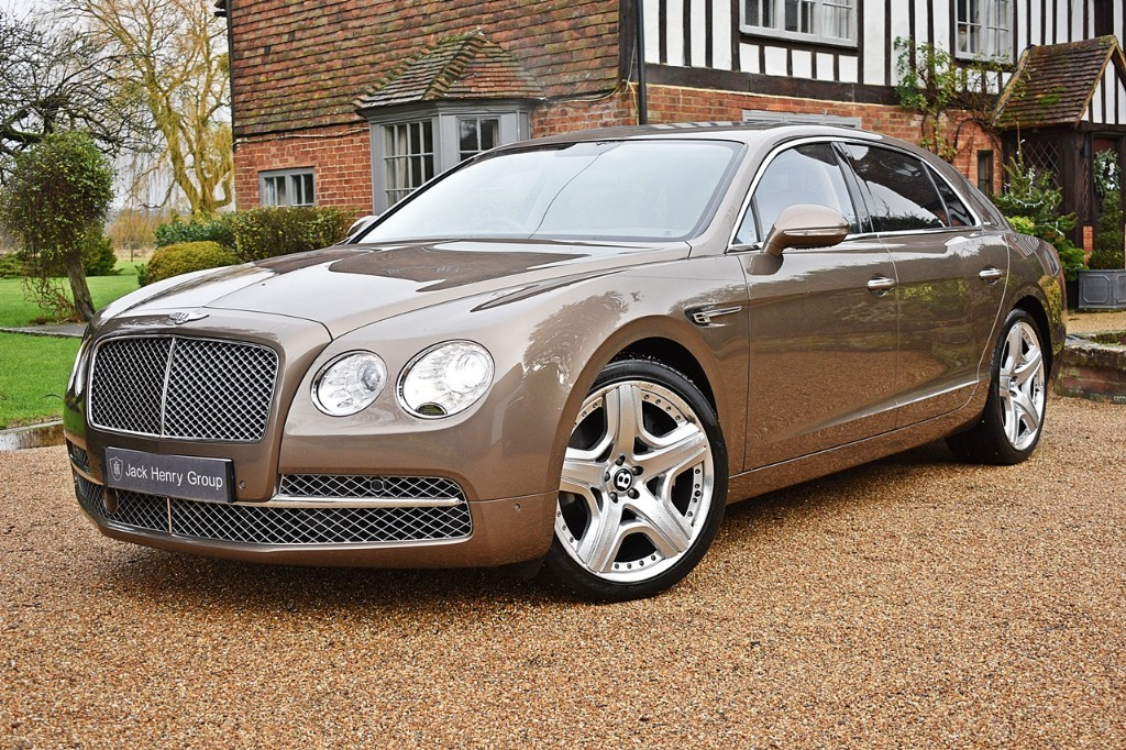 used Bentley Flying Spur W12 in in-kent