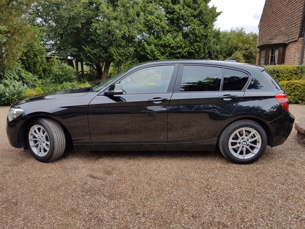 used black bmw 116d for sale kent. Black Bedroom Furniture Sets. Home Design Ideas