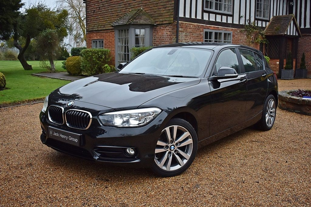 used BMW 116d SPORT in in-kent